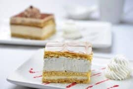 Slice of Napoleon Cake