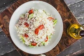 Salad with Cheese - Valentino's Restaurant
